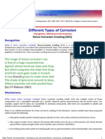 Different Forms of Corrosion_stress Corrosion Cracking_SCC