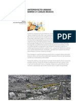 Proyecto de Urbanizacion  Villa 31