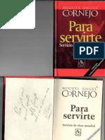 Para Servirte - Miguel Angel Cornejo