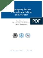 Occ- Foreclosure Practices and Procedures