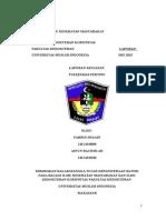 laporan puskesmas pertiwi makassar