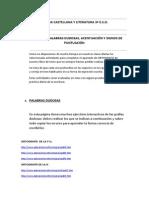 Actividades de Ortografía 3º Eso.doc