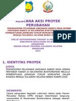 Presenttasi Sosialisasi Proyek Perubahan