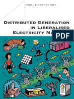 Distributed Generation in Liberalised Electricity Markets
