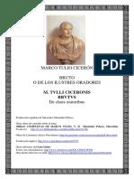 Ciceron Marco Tulio - Bruto O de Los Ilustres Oradores (Bilingue)