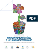 Manual Plan de Desarrollo Municipal