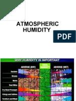 Atmospheric Humidity