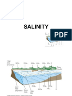 Salinity Refers to the Concentration of Salts