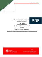 Practicas Externas C GRA 14-15