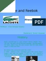 Lacoste Reebok comparatie
