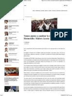03-06-15 Vamos Juntos a Cambiar La Realidad de Hermosillo. Maloro Acosta