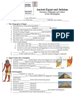 ancient egypt & judaism guided notes