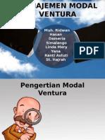 Manajemen Modal Ventura