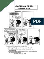 El Paradigma de un Profesor