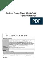 SAP BPML