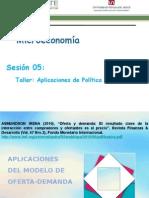 Sesion 05 Taller 1 Aplicaciones de Politica Microeconomica