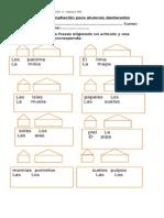 Guía de ampliación para alumnos destacados 1°