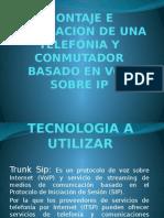 Montaje e Instalacion de Una Telefonia y Conmutador
