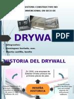 Sietema Constructivo No Convencional en Secod Rywall