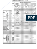 Load Management Schedule