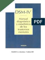 DSM IV.trast de La Ingestion y de La Cond Alimentaria