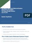 The Future of Public Pensions