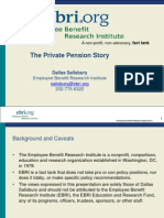 The Private Pension Story