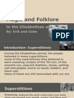magic and folklore- gabe and erik