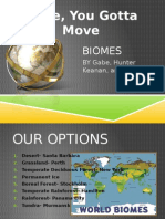 biome powerpoint copy