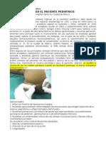 Anestesia Caudal en Niños
