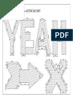 Letras Dibujo Parametrico