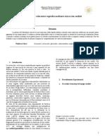 Informe de Laboratorio quimica organica  extraccion soxhlet
