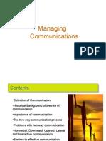 Managing Communications