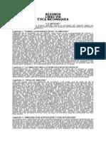 Resumen Libro 8 Ética Nicomaquea