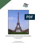 Programación Francés 2014-2015