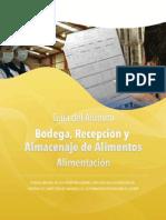 Profesor Bodega Recepcion y Almacenaje de Alimentos