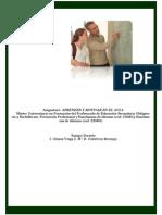 Tema 1 Los Procesos de Aprendizaje en El Aula Primera Parte 2014 2015c