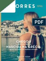Folheto Korres Brasil - Beauty Shop - Edição 01/2015