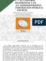 Antecedentes del Control en el Estado de Sonora