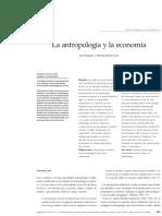 Leif Korsbaek, Marcela Barrios Luna. La Antropología y La Economía