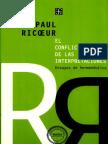 Ricoeur - El Conflicto de Las Interpretaciones