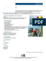 Product Sheet CBT 0001 Personal Safety