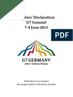 2015 G7 Declaration En