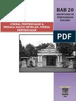 Bab 20 Akuntansi Di an Dagang - Jurnal Penyesuaian & Neraca Saldo Setelah Jurnal Penyesua