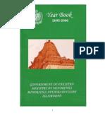 Minorities Year Book - Pakistan Government