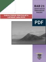 Bab 21 Akuntansi Di an Dagang - Harga Pokok Penjualan & Laporan Labar Rugi