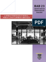 Bab 23 Akuntansi Di an Dagang - Laporan Perubahan Modal, Neraca, Dan Laporan Arus Kas