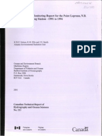 Environmental Monitoring Report for the Point Lepreau, .B. Nuclear Generating Station - 1991 to 1994