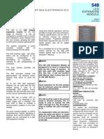 Especificaciones Tecnicas Modulo Expansion Deep Sea 548
