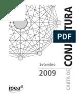 Carta de Conjuntura SET 2009